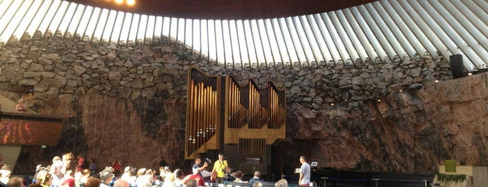 Temppeliaukio is one of Helsinki_06.2016.