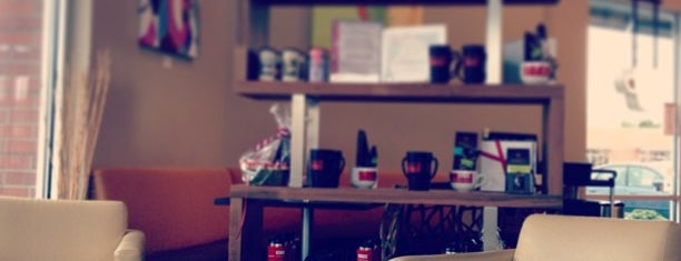 Edge Coffee is one of Tempat yang Disimpan Liante.