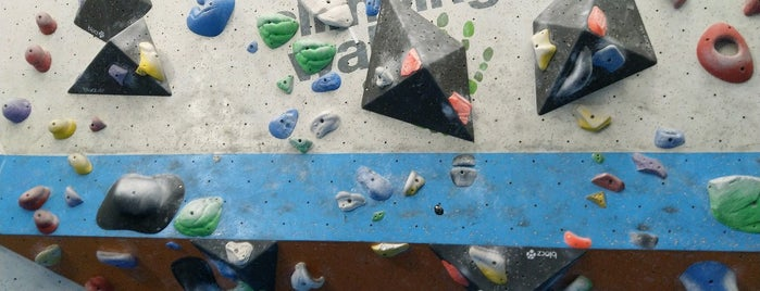Mile End Climbing Wall is one of London Faves.