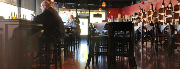 STAX Wine Bar is one of Tempat yang Disukai Marco.