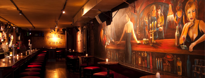 Whiskey Rebel is one of 200+ Bars to Visit in New York City.