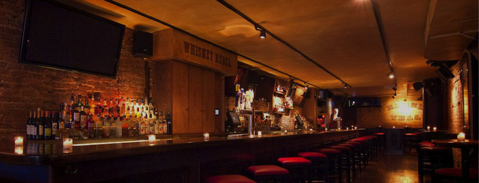 Whiskey Rebel is one of NY's Whiskey Wildness.