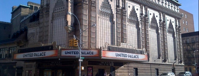 United Palace is one of Performance Spaces.