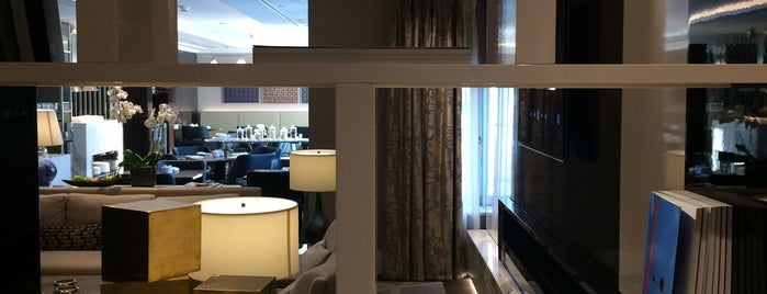 Club lounge - The Ritz-Carlton, Budapest is one of Lieux qui ont plu à S.