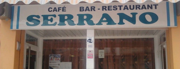 Bar Restaurante Serrano is one of barcelona.