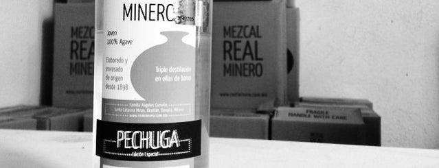 Mezcal Real Minero is one of Oaxaca.