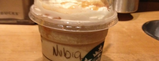 Starbucks is one of Locais curtidos por Sebastian.