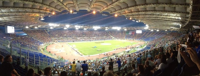 Stadio Olimpico is one of Lega Italia Serie A TIM Stadium (Season 2013-2014).