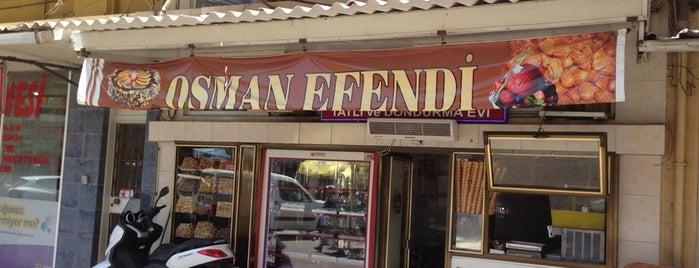 Osman Efendi Dondurma ve Tatlı Evi is one of Ege ve Akdeniz.