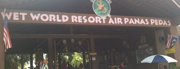 Wet World Air Panas Pedas Resort is one of Attraction Places to Visit.