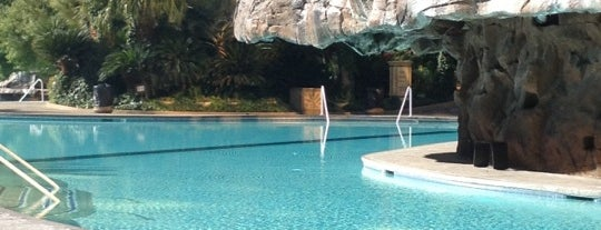 The Mirage Pool & Cabanas is one of Lost Wages.