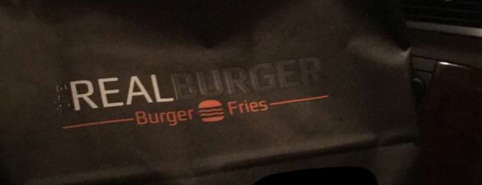 The Real Burger is one of Lieux qui ont plu à Deem.