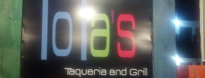 Lola's Taqueria and Grill is one of Madero.