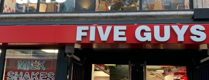Five Guys is one of Restos 4.