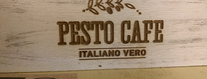 Pesto Cafe is one of Nastyaさんのお気に入りスポット.