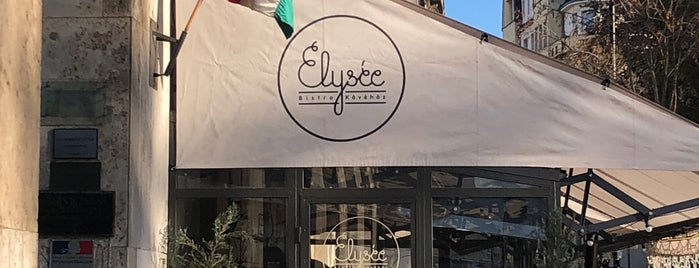 Elysée Bistro&Kávéház is one of Paco 님이 좋아한 장소.