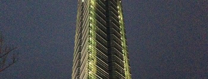 福岡タワー is one of 日本夜景遺産.