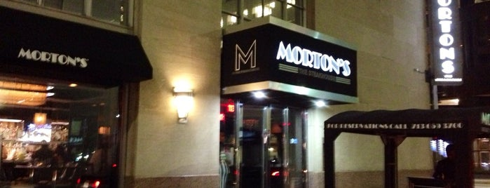 Morton's The Steakhouse is one of Eat Houston.