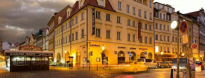 Hotel Melantrich is one of Prag.