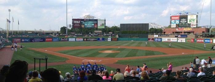 Louisville Slugger Field is one of Kentucky Y'all.