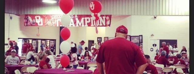 OU Mosier Indoor Track is one of University of Oklahoma.