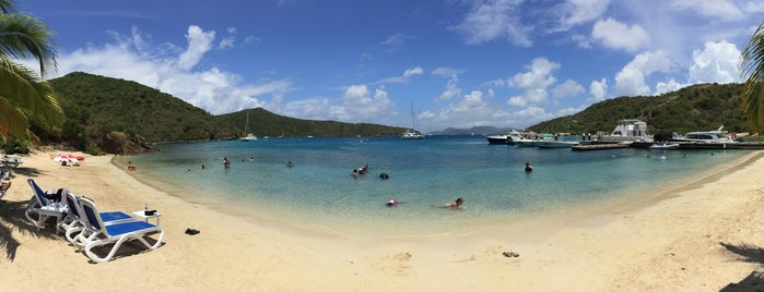 Norman Island is one of British Virgin Islands.
