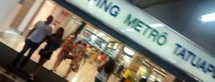 Shopping Metrô Tatuapé is one of Shopping.