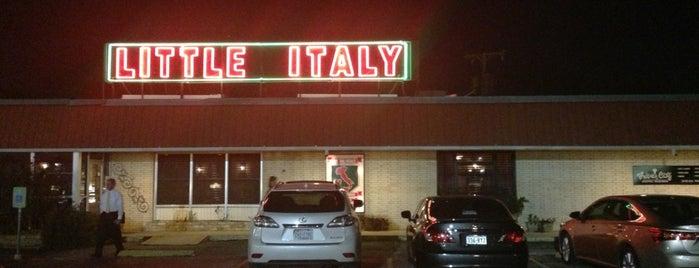 Little Italy is one of San Antonio, Tx.