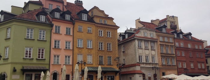 Vieille ville de Varsovie is one of Varsó.