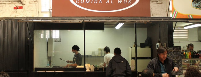 Woking Restaurant is one of Comidas.
