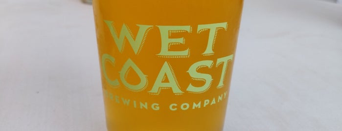 Wet Coast Brewing Company is one of Puget Sound Breweries South.