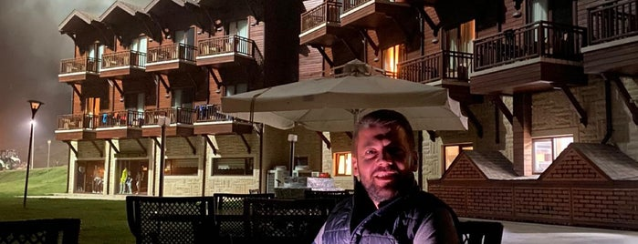 Fenerbahçe Topuk Yaylası Resort&Sport Hotel is one of สถานที่ที่ Burçin ถูกใจ.