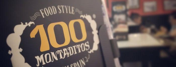 100 Montaditos is one of สถานที่ที่ Vito ถูกใจ.