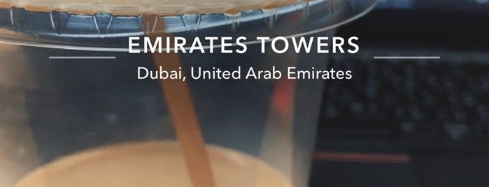 Jumeirah Emirates Towers Hotel is one of Emilio 님이 좋아한 장소.
