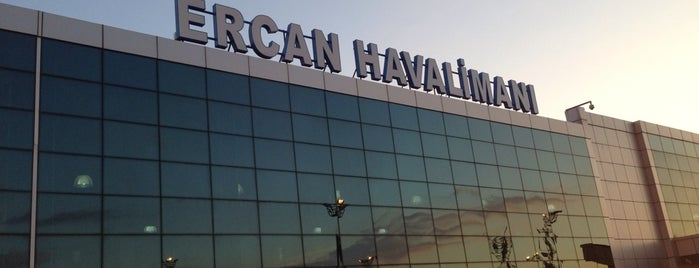 Ercan Airport (ECN) is one of Airports in Turkey.