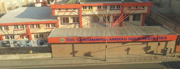 Özel Gaziosmanpaşa Anadolu Sağlık Meslek Lisesi : is one of Lugares guardados de Güçlü.