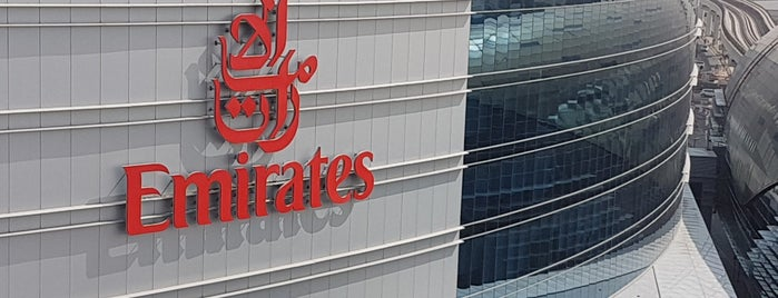 Emirates Group Headquarters is one of Follow me to go around Asia.