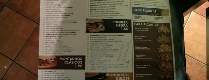 100 Montaditos is one of Spain.
