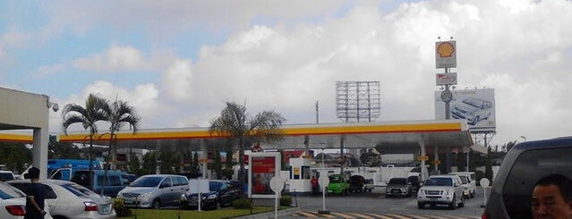 Shell Service Station is one of Orte, die Shank gefallen.