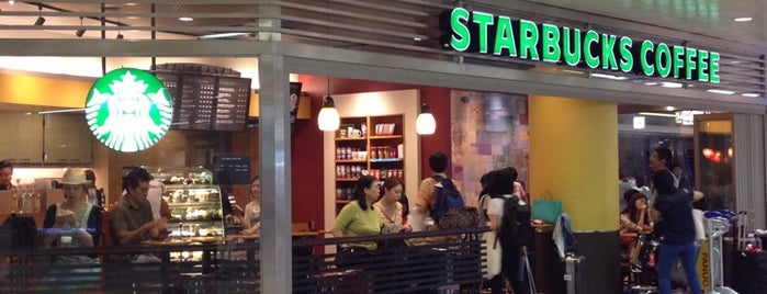 Starbucks is one of Airport.