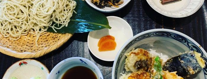 蕎麦や 口福 is one of Tempat yang Disukai issinta.