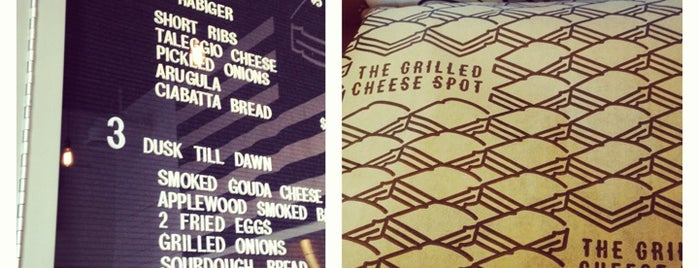 The Grilled Cheese Spot is one of Lieux sauvegardés par Erin.