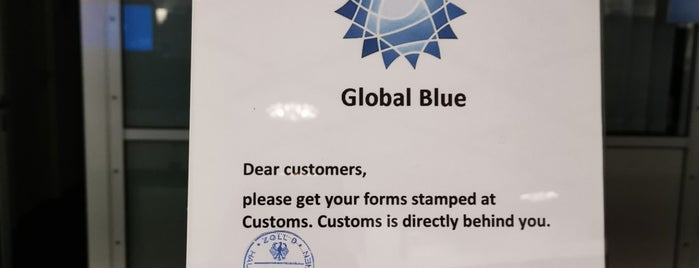 Global Blue TAX FREE is one of Locais curtidos por Mujdat.