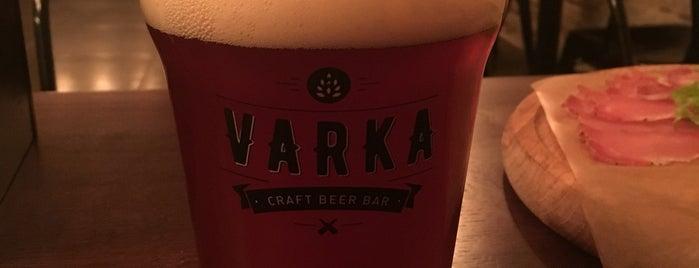VARKA Craft Beer Bar is one of Oleksandr'ın Beğendiği Mekanlar.
