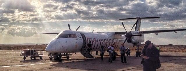 Mekale International Airport is one of my flight.