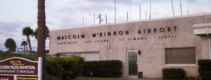 Malcom McKinnon Airport (SSI) is one of Airports~Part 1....