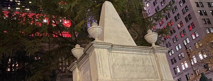 Alexander Hamilton's Grave is one of Joss : понравившиеся места.