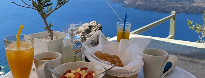 Irini Cafe is one of Santorini.