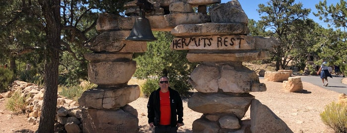 Hermit's Rest is one of grand canyon.