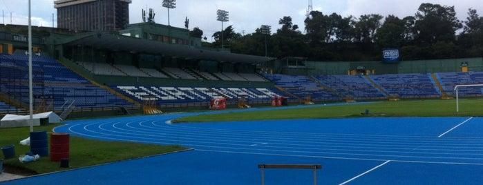 Estadio Nacional Doroteo Guamuch Flores is one of Estadios.